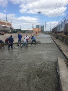 concrete paving contractors houston